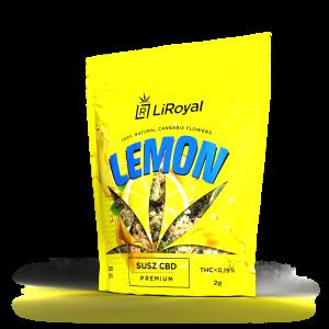 Susz CBD LiRoyal LEMON 13% - 2 g